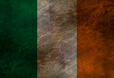 Worn irish flag Royalty Free Stock Images