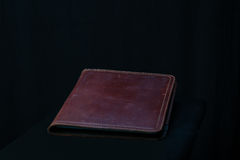 Worn Leather Portfolio Royalty Free Stock Photography