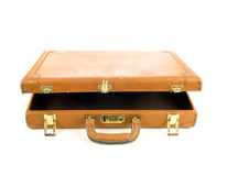 Worn old briefcase Royalty Free Stock Photography