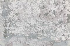 Worn old painted concrete wall Royalty Free Stock Image