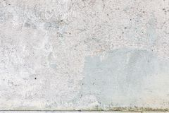 Worn old painted concrete wall Royalty Free Stock Photography