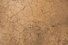 Worn orange red concrete stone wall texture. Stock Images