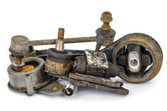 Worn out auto parts Royalty Free Stock Photo