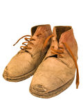 Worn out boots Royalty Free Stock Photography