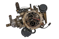 Worn out carburetor Royalty Free Stock Image