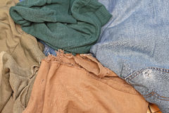 Worn Out Clothes Stock Image