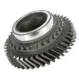 Worn out cog wheel Royalty Free Stock Image
