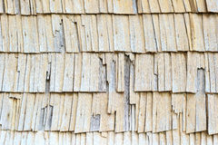 Worn out old wooden roof Royalty Free Stock Photography