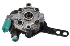Worn out power steering pump Stock Image
