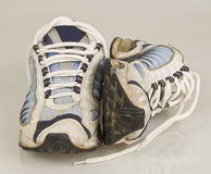 Worn Out Running Shoes 2 Royalty Free Stock Photos