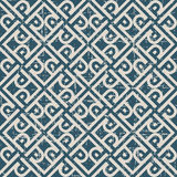 Worn out seamless background 514 vintage cross frame spiral check geometry Royalty Free Stock Images