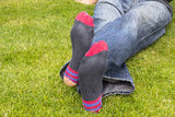 Worn Out Socks Royalty Free Stock Photography