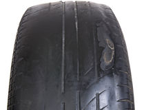 Worn Out Tire Royalty Free Stock Images