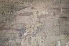 Worn out wooden board. Picture of a worn out wooden board Royalty Free Stock Photos