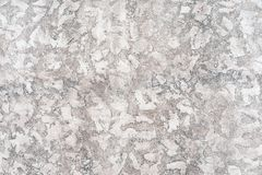 Worn pale white and black concrete wall texture background. Textured plaster.  royalty free stock photography