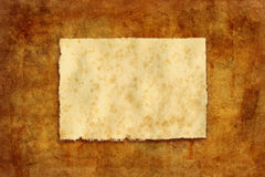 Worn paper Royalty Free Stock Image