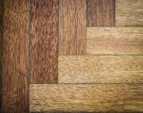 Worn parquet. Light wood flooring worned by use and time Royalty Free Stock Image