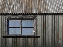 Old metal outbuilding Royalty Free Stock Images