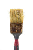 Worn and rusty paint brush Royalty Free Stock Image