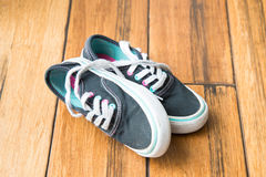 Worn sneakers Royalty Free Stock Images