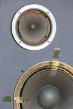 Worn speakers Royalty Free Stock Photography