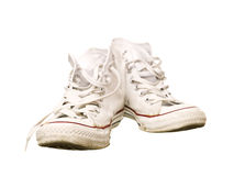 Worn Sport Shoes Stock Image