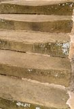 Worn stone steps Stock Photo