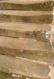 Worn stone steps Stock Photo
