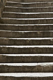 Worn stone steps Stock Images