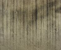 Worn striped raked concrete Stock Photography