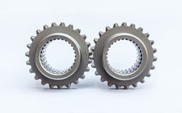 Worn teeth gear Stock Images