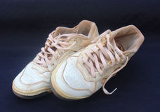 Worn tennis. Used to play tennis Royalty Free Stock Photography