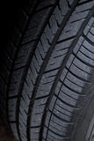 Worn tire tread Royalty Free Stock Image