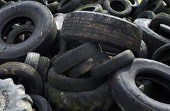 Worn tires Stock Image