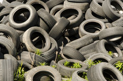Worn tires Royalty Free Stock Images