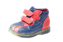 Worn Toddlers Shoe Stock Photography