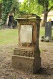 Worn tombstone Stock Photos
