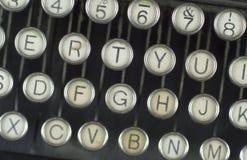 Worn Typerwriter Stock Image