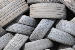 Worn tyres Royalty Free Stock Image