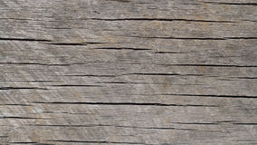 Worn and Weathered Horizontal Grained Wood Background Stock Photography