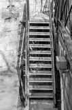 Worn and weathered staircase Stock Photography