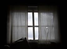 Worn window Royalty Free Stock Image