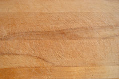 Worn Wood of a Chopping Board Stock Image
