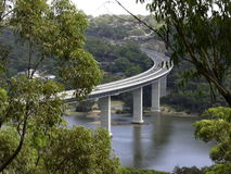 woronora γεφυρών Στοκ εικόνες με δικαίωμα ελεύθερης χρήσης
