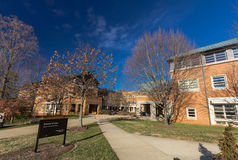 Worrell Professional Center at WFU Royalty Free Stock Photos