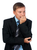 Worried business man Stock Photography