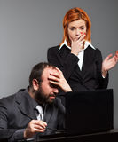 Worried business team Royalty Free Stock Photography