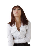 Worried business woman Royalty Free Stock Photos