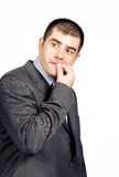 Worried businessman Stock Photography
