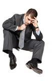 Worried businessman Royalty Free Stock Photo